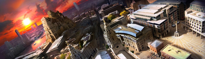 Matte Painting and camera map test